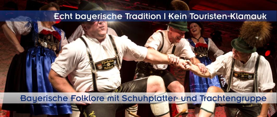 Ideen, Showprogramm und Umrahmung für bayerische Feste oder bayerisches Oktoberfest