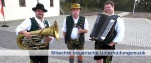 Bayerische Musiker in München, Stuttgart, Frankfurt, Köln, Dortmund, Dresden, Leipzig, Berlin, Hannover, Hamburg, Bremen, Zürich