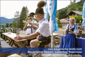 Ideen, Showprogramm und Umrahmung für bayerischer Abend in München, Nürnberg, Regensburg, Stuttgart, Salzburg, Zürich
